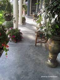 Concrete Stain Colors For Patios Best 25 Stained Concrete Porch Ideas On Pinterest Porch