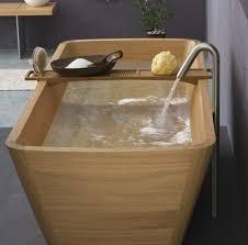 vasca da bagno in plastica legno per arredare ritorno alle origini arredamento x arredare