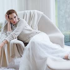 wedding dress sweaters winter wedding dresses paired with fur coats and cozy sweaters