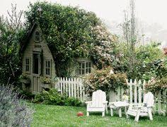 Cottage Backyard Ideas Impressive Tiny Houses Pea Gravel Adirondack Chairs And Chairs