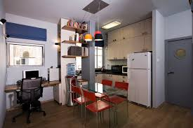 Small Bachelor Apartment Contemporary Kitchen Tel Aviv By - Bachelor apartment designs