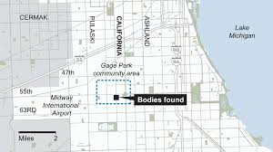 Chicago Midway Map by Map Multiple People Found Dead In Gage Park Home Chicago Tribune