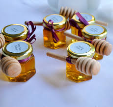 honey jar favors favor labels can add variety to your wedding favors