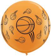 balloon delivery okc nba basketball themed balloons