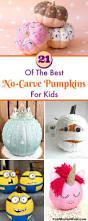 21 of the best no carve pumpkins for kids decoration holidays