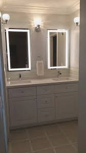 simple bathroom mirror frame kit home design new best to home