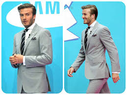 get david beckham suit style collection for gentlemen