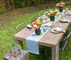 outdoor entertaining diy outdoor entertainment area convert your backyard with fiskars