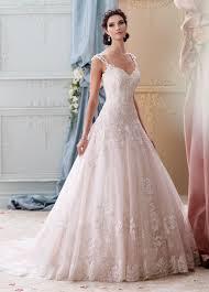 pink embroidered wedding dress beaded light pink lace gown wedding dress 215277 arwen