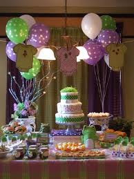 astounding lime green and purple baby shower decorations 68 with
