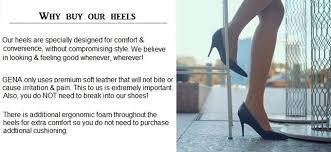 Comfortable Heels For Dancing Gena Adjustable Height Heels By Cherre U2014 Kickstarter