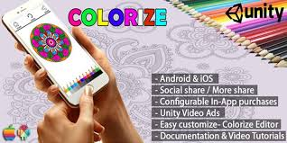 unity xl tutorial colorize coloring app unity source code kids game templates for