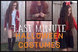 3 last minute halloween costumes youtube