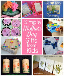 simple mother u0027s day gifts kids can make right start blog