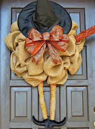 Halloween Wreath Witch Legs Diy Witch Wreath