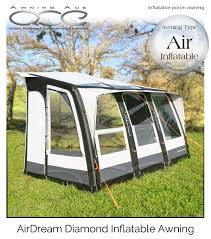 Inflatable Awnings For Motorhomes Awning Ace 390 Air Dream Diamond Inflatable All Season Awning