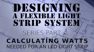 Led Strip Light Power Consumption by How To Calculate Watts With Led Light Strips Youtube