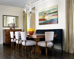 Awesome Dining Room Banquette Bench Contemporary Home Design - Dining room banquette bench