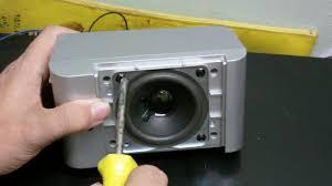 durabrand home theater system taking a durabrand speaker apart youtube