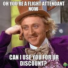 No Internet Meme - flight attendant memes
