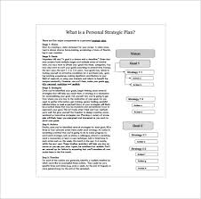 strategic action plan template 12 free sample example format