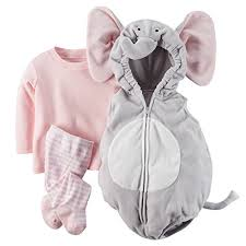Elephant Baby Costume Halloween Carter U0027s Baby Girls U0027 Halloween Costume 24 Months Elephant