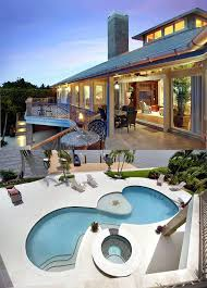 Mediterranean House Plans With Pool Contemporary Florida Mediterranean House Plan 71509