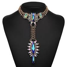 big chain necklace images Jujia new fashion necklace costume collar good quality big crystal jpg