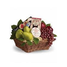 gourmet basket fruit gourmet basket hoover fisher florist