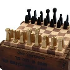 unique chess pieces blacksmith chess set metal chess set collectible chess