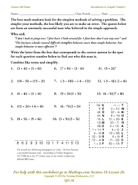 100 quadratic equation worksheet and answers equations word