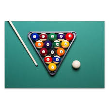 pool table wall art lounge room decor for sale in billiard table wall art print