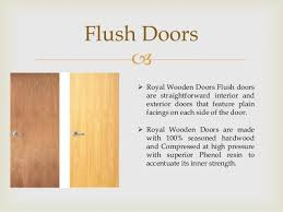 Flush Exterior Door Royal Wooden Doors Bangalore Supplier Of Burma Teak Doors Designer