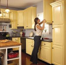 Yellow Kitchen Cabinets - yellow paint colors for kitchen home design and decor reviews