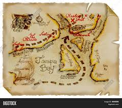 Treasure Maps Old Map Treasure Parchment Stock Photo U0026 Stock Images Bigstock