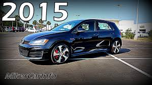 volkswagen golf gti 2015 4 door 2015 volkswagen golf gti se w performance package youtube