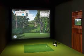Home Golf Simulator by Golf Simulators Foresight Sports