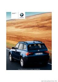bmw x3 3 0i 2005 e83 owner u0027s manual