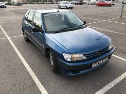 peugeot 206 turbo peugeot 306 d turbo 5 door blue spares or repairs in reading