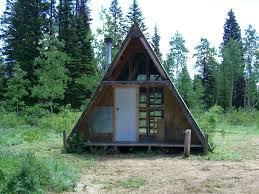 A Frame Chalet Caribou Targhee National Forest Egan Basin Guard Station