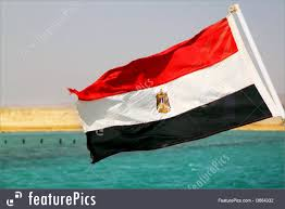 Eygpt Flag Flags Flag Of Egypt Stock Picture I3664332 At Featurepics