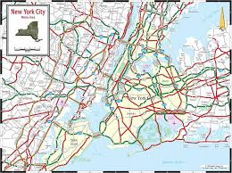 detailed map of new york new york city map detailed map of new york city new york usa
