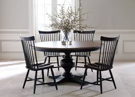 good classy brown and white oak wood round dining table quotes