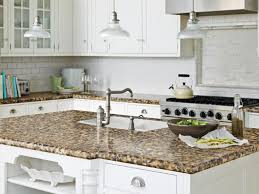 White Kitchen Cabinets With Gray Granite Countertops Granite Countertop Staining Kitchen Cabinets White Single Burner