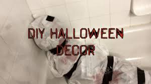 diy easy last minute halloween decorations youtube