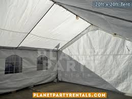 party supplies for rent 20ft x 20ft tent rental