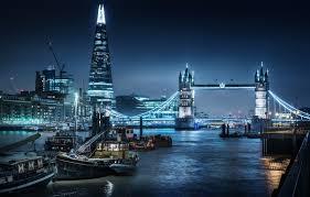 tower bridge london twilight wallpapers wallpaper thames river london england london thames pier