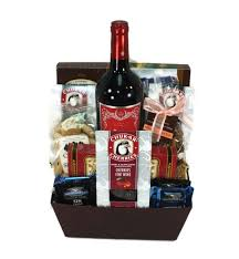 wine and chocolate gift basket wine chocolate basket deschutes gift baskets
