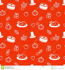 thanksgiving day seamless pattern royalty free stock photos
