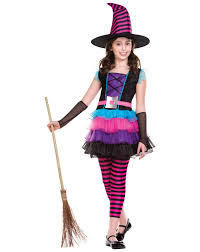 pink witch costume toddler child miss matched witch costume 996994 fancy dress ball disney